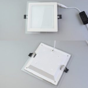 Square Glass LED Panel Light Singapore - Aspire Lights