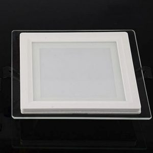 Glass Square LED Downlight Singapore - Aspire Lights