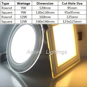 Glass LED Downlight Singapore - Aspire Lights