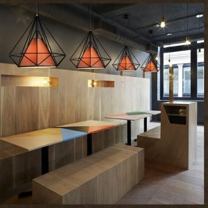 LED Pyramid Pendant Light Singapore - Aspire Lights