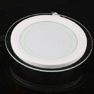 LED Round Glass Panel Light Singapore - Aspire Lights