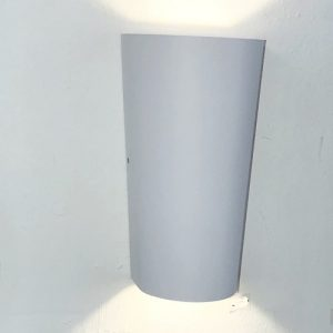 White Trapezium LED Wall Light Singapore - Aspire Lights