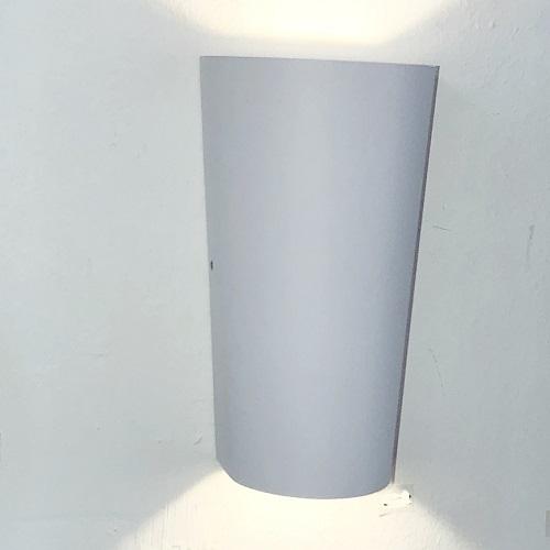White Trapezium LED Wall Light Singapore - Aspire Lights