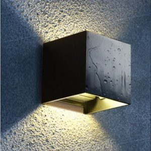 Black LED Wall Light Singapore - Aspire Lights