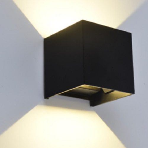 Wall Light Square Black & Wall Light Round Black | Aspire Lights SG | LED Lights Singapore azcodes.com