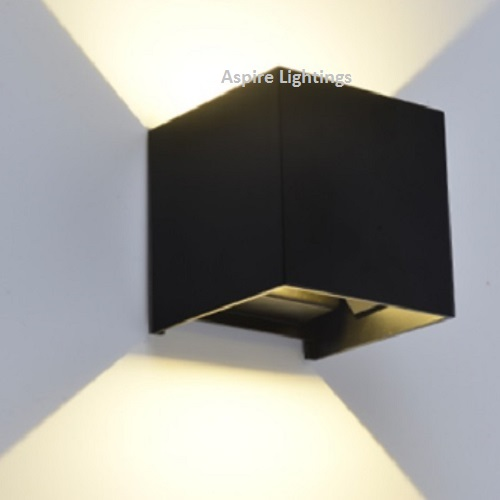 LED Wall Light Black Singapore - Aspire Lights