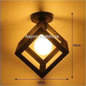 Cube Ceiling LED Light Singapore - Aspire Lights