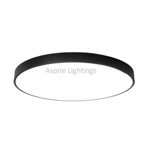 Black Elemental Slim LED Light Singapore- Aspire Lights
