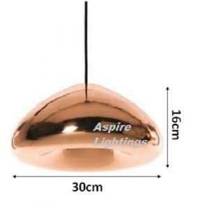 Aplomb Rose Gold LED Pendant Light Singapore - Aspire Lights