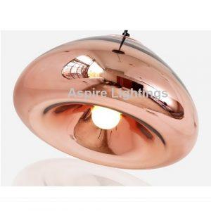 LED Aplomb Rose Gold Pendant Light Singapore - Aspire Lights