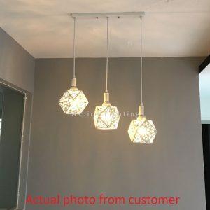 Bliss Long LED Pendant Light Singapore - Aspire Lights