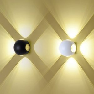 White Bumble Bee LED Wall Lamp Singapore - Aspire Lights