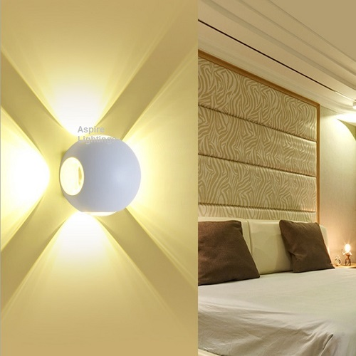 White Bumble Bee Wall LED Lamp Singapore - Aspire Lights