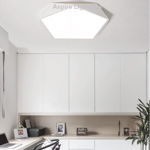 Pentagon Ceiling LED Light Singapore- Aspire Lights