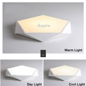 Pentagon LED Ceiling Light Singapore- Aspire Lights