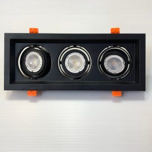 LED Triple GU10 Tracklight Singapore - Aspire Lights