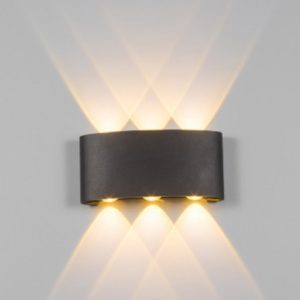 Black LED Wall Light 3 Way Singapore - Aspire Lights