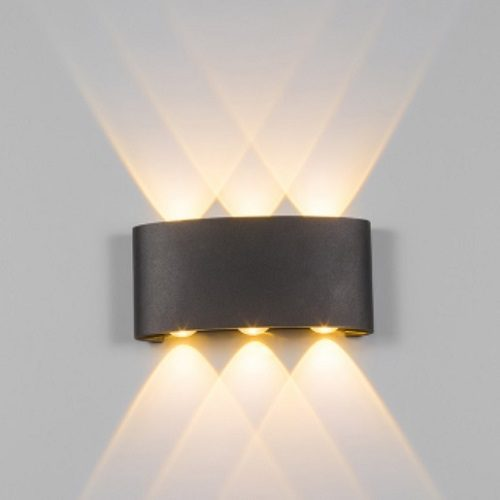 Black LED Wall Light 3 Way Singapore - Aspire Lights