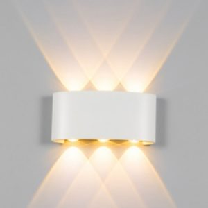 White LED Wall Light 3 Way Singapore - Aspire Lights