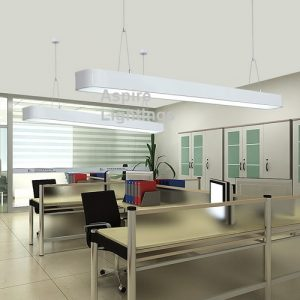 White Rec Pendant LED Light Singapore - Aspire Lights