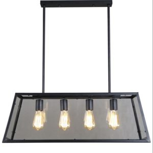 LED Trapezium Glass Pendant Light Singapore - Aspire Lights