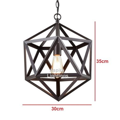 Hexagon Pendant LED Light Singapore - Aspire Lights