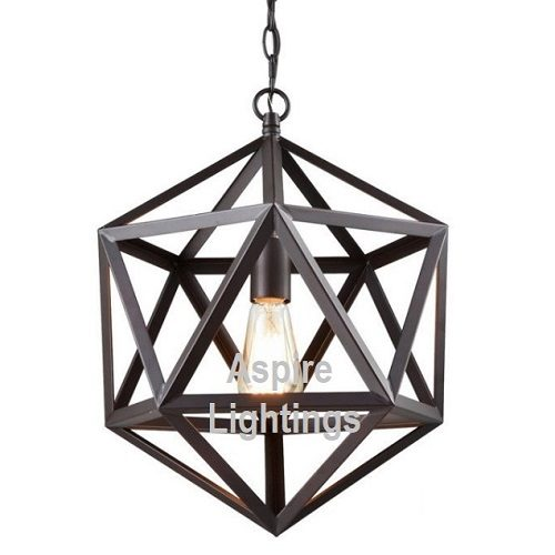 Hexagon LED Pendant Light Singapore - Aspire Lights