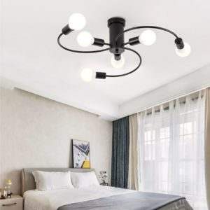 Black Spiral Pendant LED Light Singapore - Aspire Lights