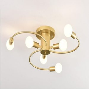 Gold Spiral LED Pendant Light Singapore - Aspire Lights