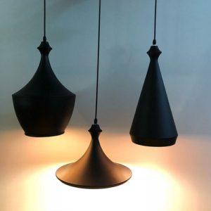 LED Chess Black Pendant Light Singapore - Aspire Lights