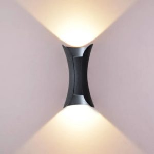 LED Wall Light Fleur Black Singapore - Aspire Lights