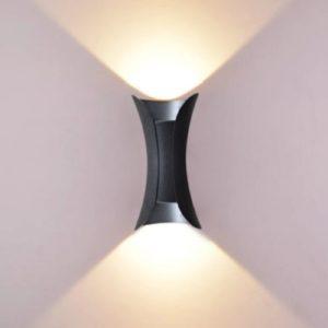 LED Wall Light Fleur Black Singapore - Aspire Lights