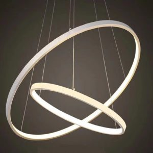 Twin Orbicular LED Pendant Light Singapore- Aspire Lights