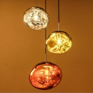 Lava Glass LED Pendant Light Singapore - Aspire Lights