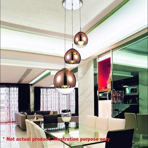 Glass Ball LED Pendant Light Singapore - Aspire Lights