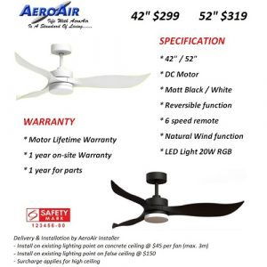 AeroAir Brochure | Aspire Lights