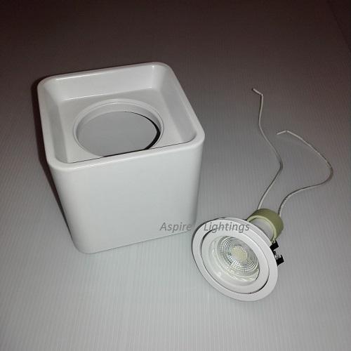 Ceiling Spotlight GU10 | Aspire Lights