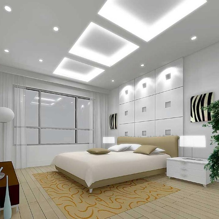 Down Light LED Fitting Light Bedroom Singapore - Aspire Lights