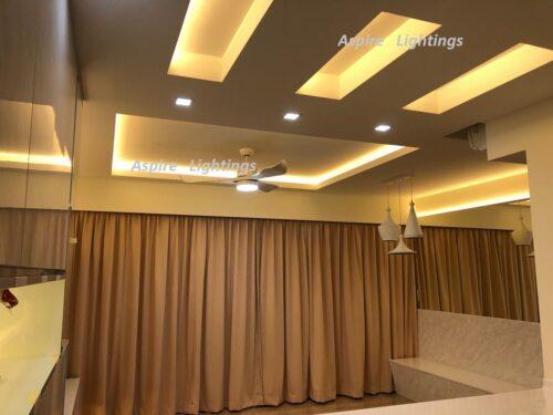 Strip LED Downlight Singapore - Aspire Lights