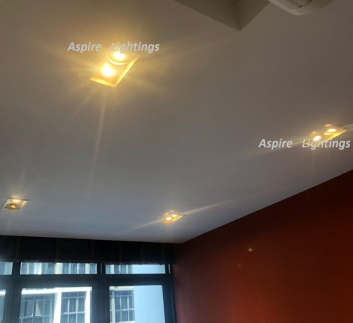 Fitting twin LED Downlight Singapore - Aspire Lights